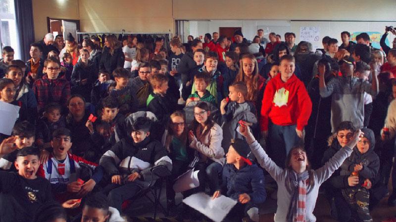 Bergkamen for all - Jugendkonferenz Gruppenfoto